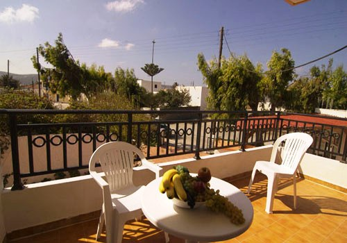 Prasonisi Club balcony